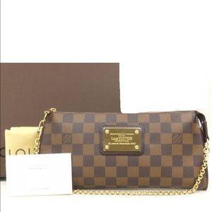 Louis Vuitton Damier Sophie hand bag, wristlets